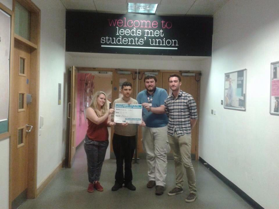 Alex joins Leeds Students in opposition to Disabled Allowance cuts